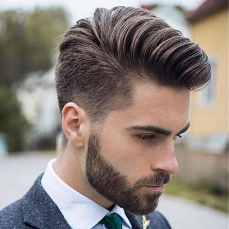 Modern Combover, Attractive Hairstyles for men,