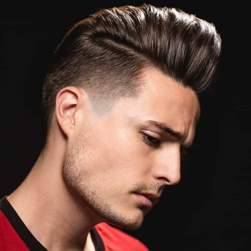 Attractive Hairstyles For Men, Pompadour Hairstyle,