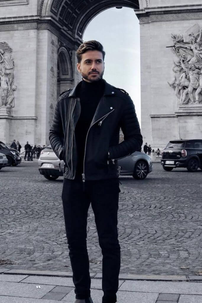 5 All Black Outfits For Men | Look Like Alpha Male 2 5 All Black Outfits For Men | Look Like Alpha Male